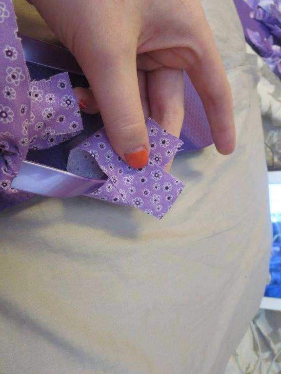 DIY Rag Tie Flip Flops